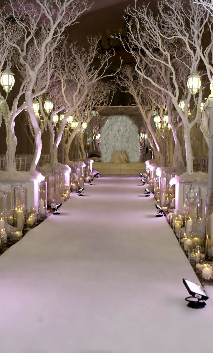 1200 In Winter Wonderland Wedding
