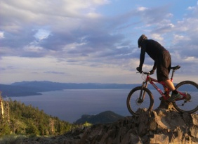 Biking lake tahoe