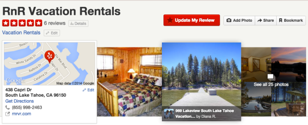RnR Vacation Rentals South Lake Tahoe