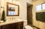 Master bath, walk-in shower. Newly remodeled, clean.