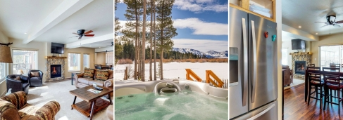 Tahoe Retreat on the Meadow Collage